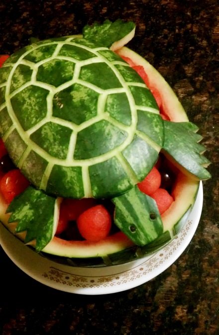Watermelon Turtle Namabakery