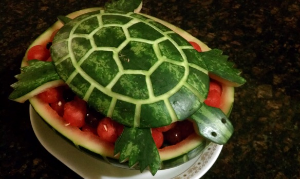 Edible turtle
